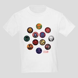 Marvel Grunge Icons Kids Light T-Shirt