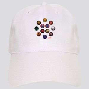 Marvel Grunge Icons Cap