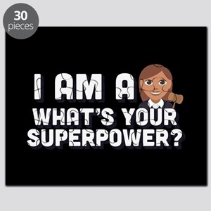 I Am A Judge What's Your Superpower Puzzle