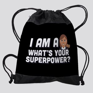 I Am A Judge What's Your Superpower Drawstring Bag
