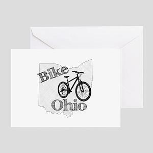 Bike Ohio Greeting Card
