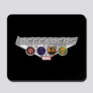 The Defenders Icons Mousepad