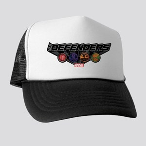 The Defenders Icons Trucker Hat