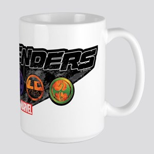 The Defenders Icons Large Mug