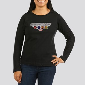The Defenders Ico Women's Long Sleeve Dark T-Shirt