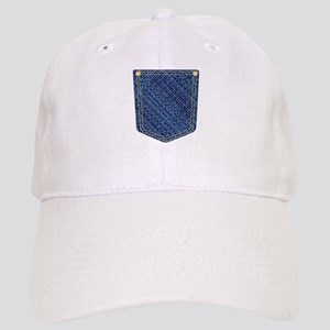 Plain Denim Pocket Cap