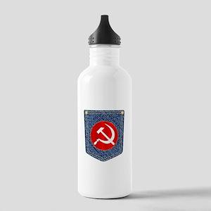 Russian Denim Pocket Stainless Water Bottle 1.0L