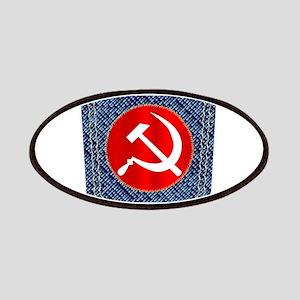 Russian Denim Pocket Patch