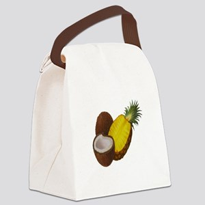 TROPICAL Canvas Lunch Bag