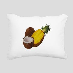 TROPICAL Rectangular Canvas Pillow