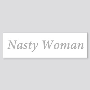 Nasty Woman Hillary Bumper Sticker