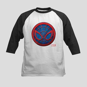 Spider-Man Grunge Icon Kids Baseball Jersey