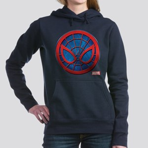 Spider-Man Grunge Icon Women's Hooded Sweatshirt