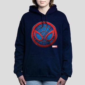 Spider-Man Grunge Icon Women's Hooded Sweatshirt