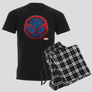 Spider-Man Grunge Icon Men's Dark Pajamas