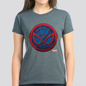 Spider-Man Grunge Icon Women's Dark T-Shirt