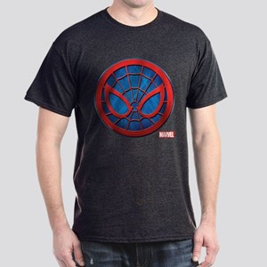 Spider-Man Grunge Icon Dark T-Shirt