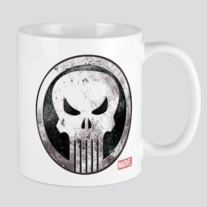 Punisher Grunge Icon Mug