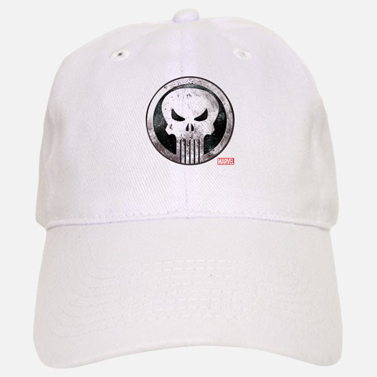 Punisher Grunge Icon Baseball Baseball Cap