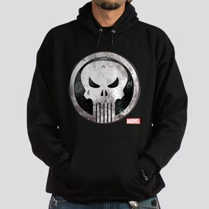 Punisher Grunge Icon Hoodie (dark)