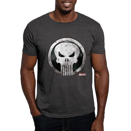 Punisher Grunge Icon Dark T-Shirt