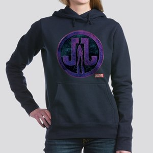 Jessica Jones Grunge Ico Women's Hooded Sweatshirt
