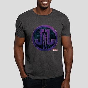 Jessica Jones Grunge Icon Dark T-Shirt