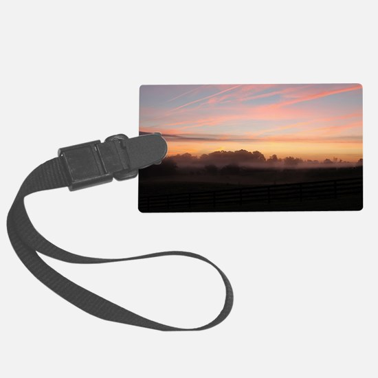 Unique Sunrise Luggage Tag