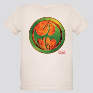 Iron Fist Grunge Icon Organic Kids T-Shirt