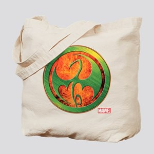 Iron Fist Grunge Icon Tote Bag