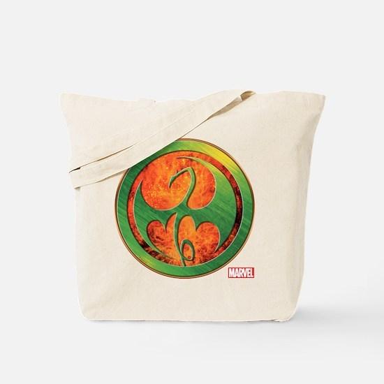 Iron Fist Grunge Icon Tote Bag