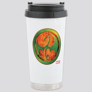 Iron Fist Grunge Icon Stainless Steel Travel Mug