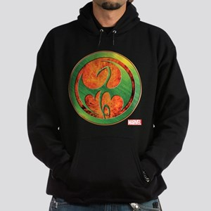 Iron Fist Grunge Icon Hoodie (dark)