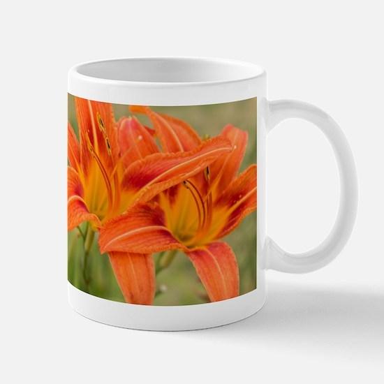 Orange Lilies Mugs