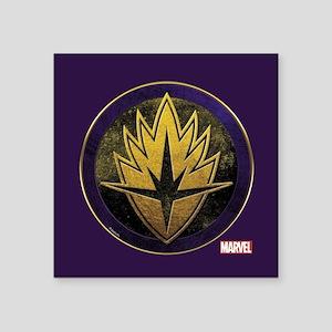 "Guardians Grunge Icon Square Sticker 3"" x 3"""