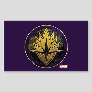 Guardians Grunge Icon Sticker (Rectangle)