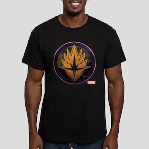 Guardians Grunge Icon Men's Fitted T-Shirt (dark)