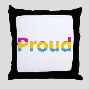 Proud (Pansexual) Throw Pillow