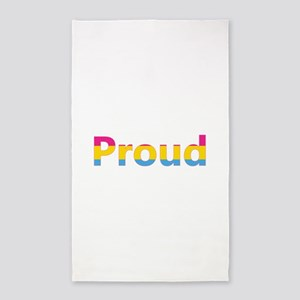Proud (Pansexual) Area Rug
