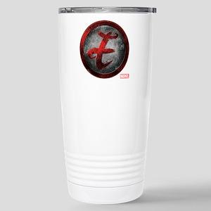 Elektra Grunge Icon Stainless Steel Travel Mug