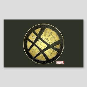Doctor Strange Grunge Icon Sticker (Rectangle)