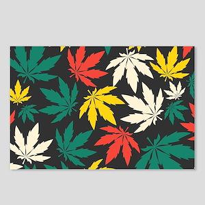 Marijuana Leaf Postcards (Package of 8)