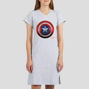 Captain America Grunge Women's Nightshirt