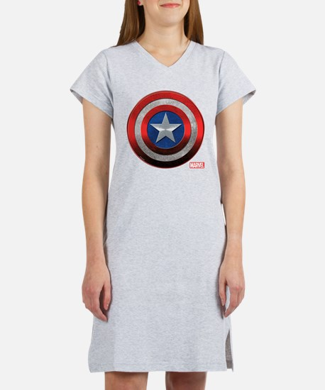 Captain America Grunge Women's Nightshirt