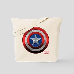 Captain America Grunge Tote Bag
