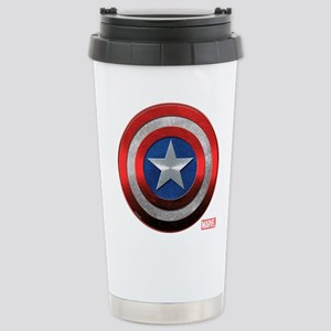 Captain America Grunge Stainless Steel Travel Mug