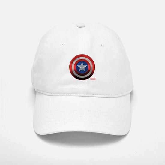 Captain America Grunge Baseball Baseball Cap