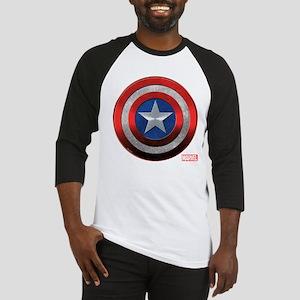 Captain America Grunge Baseball Jersey
