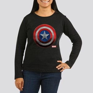Captain America G Women's Long Sleeve Dark T-Shirt
