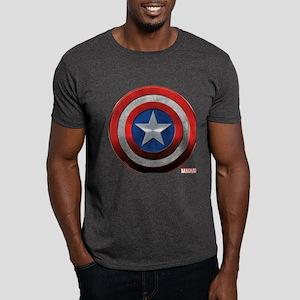 Captain America Grunge Dark T-Shirt